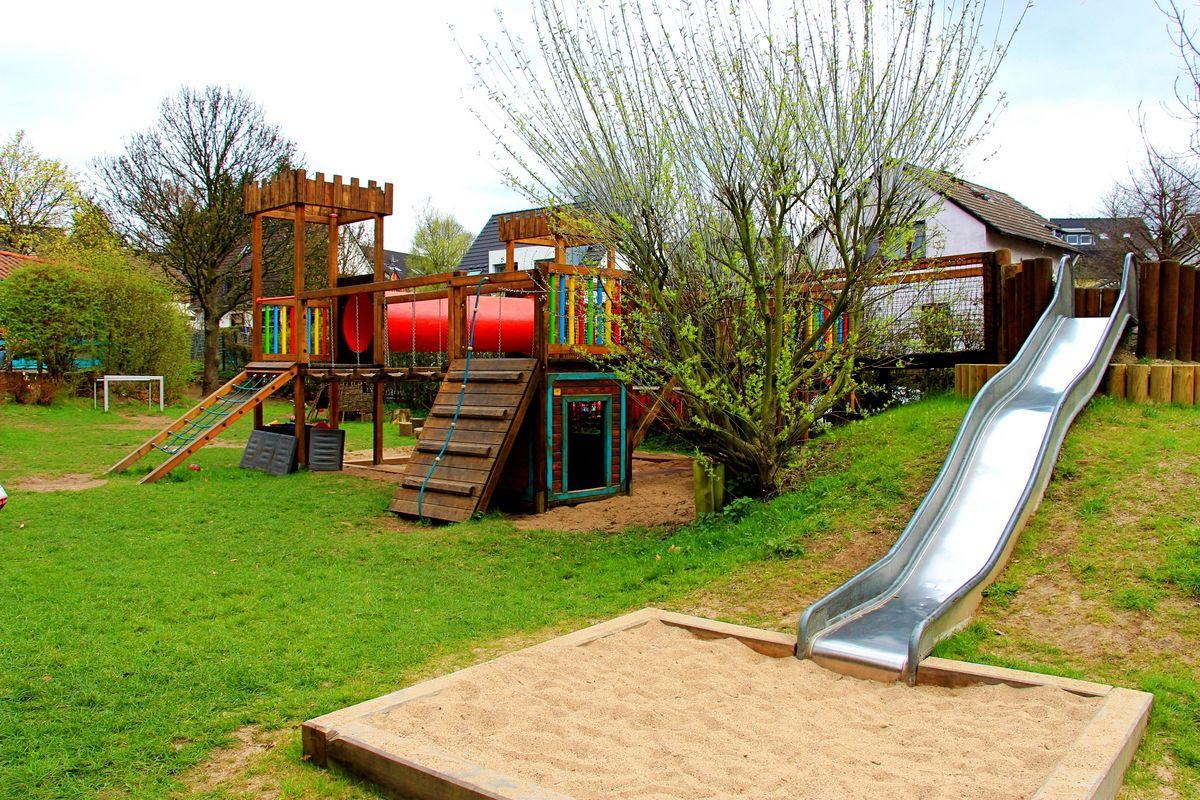 Klettergerüst Englisch : Kindertagesstätte kuddelmuddel: der paritätische solingen